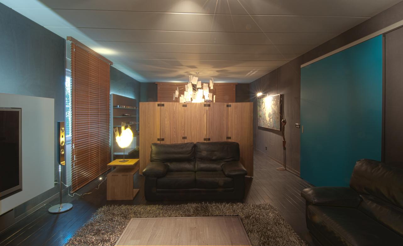 peinture decoration renovation sejour salon salle a manger decorateur pierre wege liege - Renovation Sejour Salle A Manger
