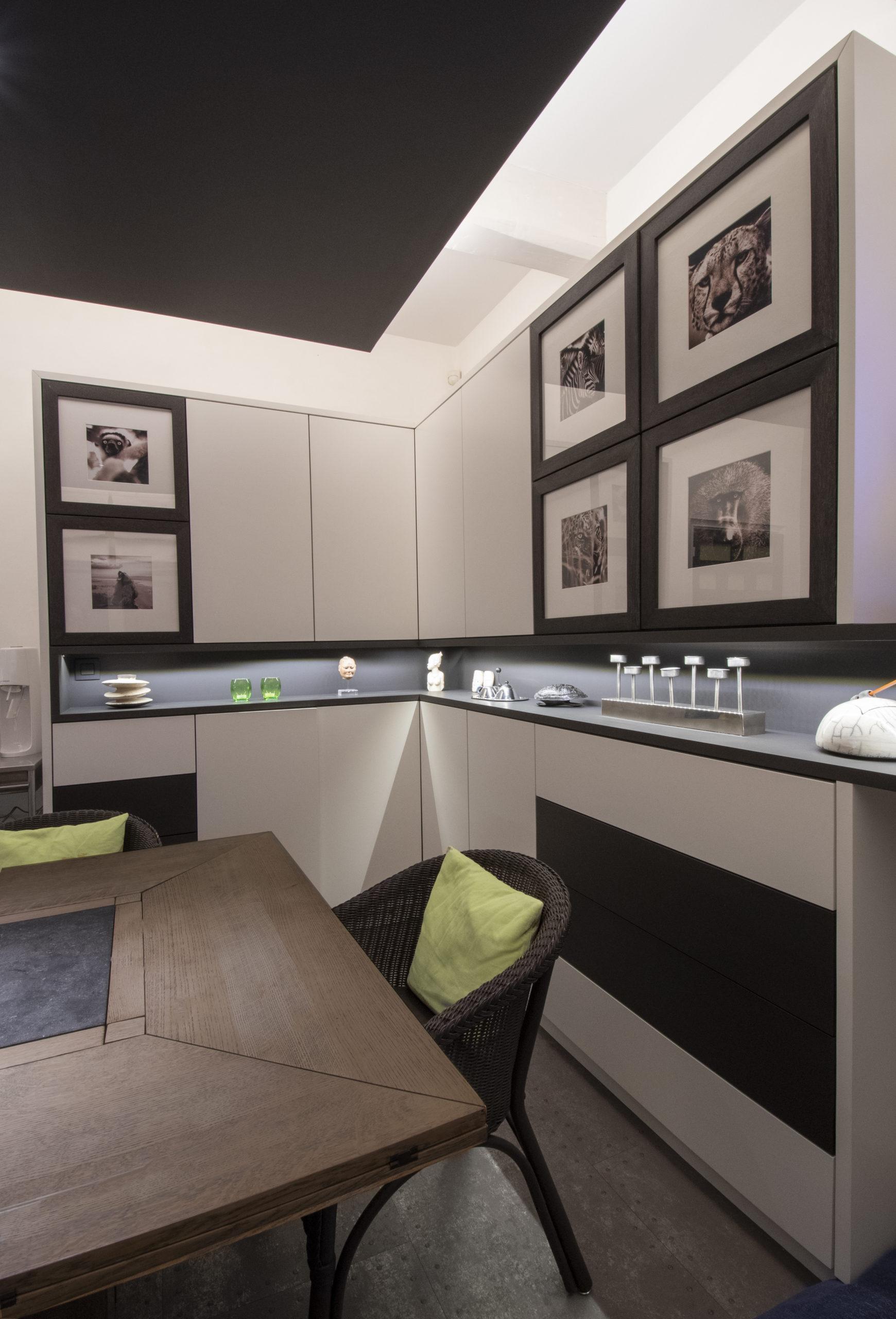 Salle à manger et table modulable